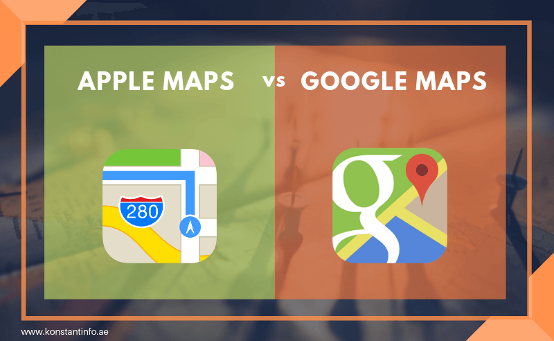 Apple Maps vs. Google Maps- Who's the Winner?