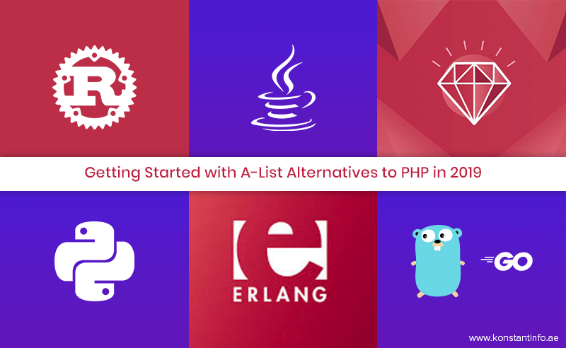 Getting Started with A-List Alternatives to PHP in 2019